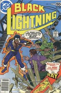 Cover Thumbnail for Black Lightning (DC, 1977 series) #11