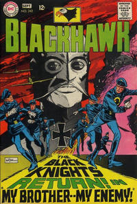 Cover Thumbnail for Blackhawk (DC, 1957 series) #242