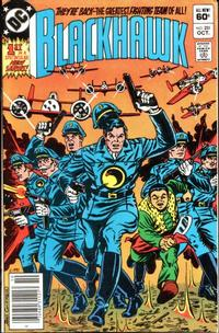 Cover Thumbnail for Blackhawk (DC, 1957 series) #251 [Newsstand]