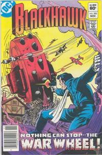 Cover Thumbnail for Blackhawk (DC, 1957 series) #252 [Newsstand]