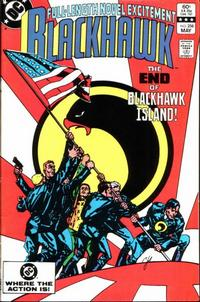 Cover Thumbnail for Blackhawk (DC, 1957 series) #258 [Direct]