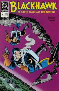 Cover Thumbnail for Blackhawk (DC, 1989 series) #2