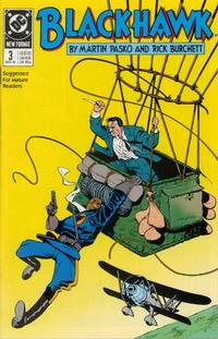 Cover Thumbnail for Blackhawk (DC, 1989 series) #3