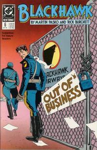 Cover Thumbnail for Blackhawk (DC, 1989 series) #6
