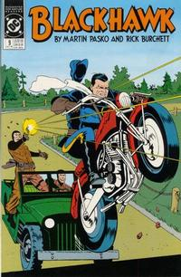 Cover Thumbnail for Blackhawk (DC, 1989 series) #9