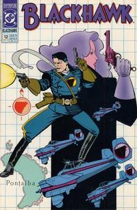 Cover Thumbnail for Blackhawk (DC, 1989 series) #12