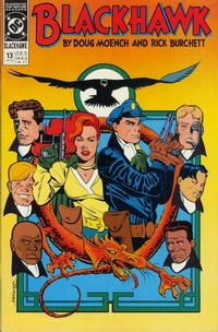 Cover Thumbnail for Blackhawk (DC, 1989 series) #13