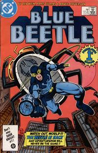 Cover Thumbnail for Blue Beetle (DC, 1986 series) #1 [Direct]