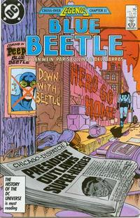 Cover Thumbnail for Blue Beetle (DC, 1986 series) #9 [Direct]