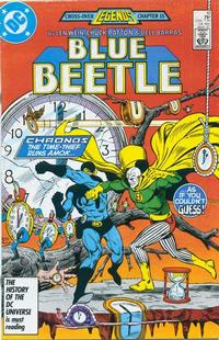 Cover Thumbnail for Blue Beetle (DC, 1986 series) #10 [Direct]