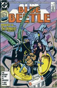 Cover Thumbnail for Blue Beetle (DC, 1986 series) #11 [Direct]