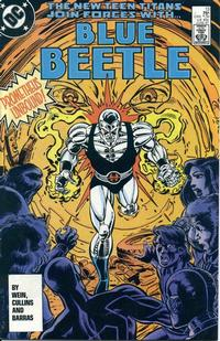 Cover Thumbnail for Blue Beetle (DC, 1986 series) #13 [Direct]