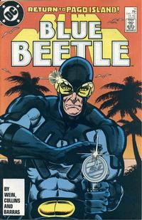 Cover Thumbnail for Blue Beetle (DC, 1986 series) #14 [Direct]
