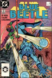 Cover Thumbnail for Blue Beetle (DC, 1986 series) #17 [Direct]