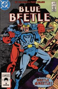Cover Thumbnail for Blue Beetle (DC, 1986 series) #18 [Direct Edition]