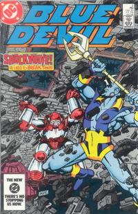 Cover Thumbnail for Blue Devil (DC, 1984 series) #2 [Direct Edition]