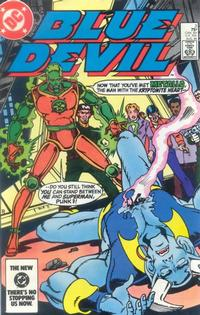 Cover Thumbnail for Blue Devil (DC, 1984 series) #3 [Direct Edition]