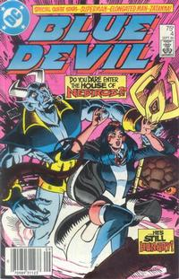 Cover Thumbnail for Blue Devil (DC, 1984 series) #4 [Newsstand]