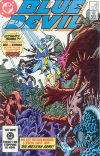 Cover Thumbnail for Blue Devil (DC, 1984 series) #5 [Direct Edition]