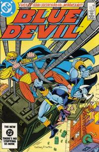 Cover Thumbnail for Blue Devil (DC, 1984 series) #8 [Direct Edition]