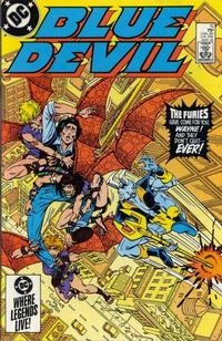 Cover Thumbnail for Blue Devil (DC, 1984 series) #10 [Direct Edition]