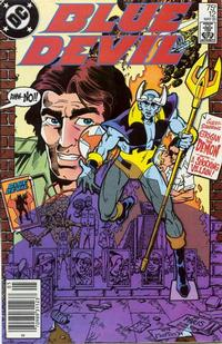 Cover Thumbnail for Blue Devil (DC, 1984 series) #12 [Newsstand Edition]