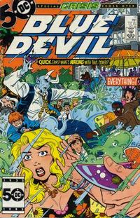 Cover for Blue Devil (DC, 1984 series) #17 [Direct Sales]