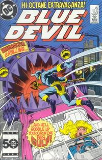 Cover Thumbnail for Blue Devil (DC, 1984 series) #21 [Direct Sales]