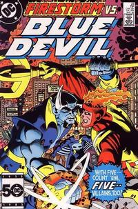 Cover Thumbnail for Blue Devil (DC, 1984 series) #23 [Direct Edition]