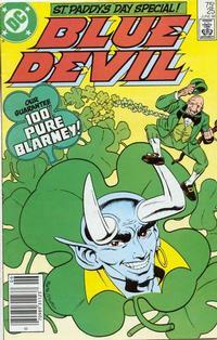 Cover Thumbnail for Blue Devil (DC, 1984 series) #25