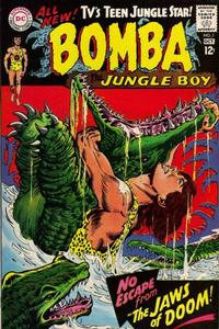 Cover Thumbnail for Bomba the Jungle Boy (DC, 1967 series) #1