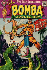 Cover Thumbnail for Bomba the Jungle Boy (DC, 1967 series) #2