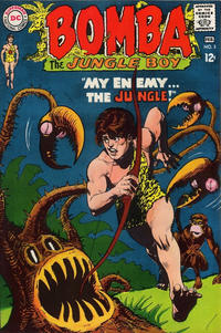 Cover Thumbnail for Bomba the Jungle Boy (DC, 1967 series) #3