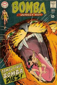 Cover Thumbnail for Bomba the Jungle Boy (DC, 1967 series) #5