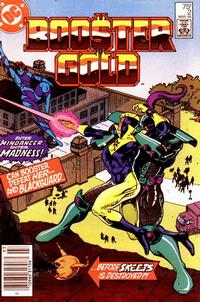 Cover Thumbnail for Booster Gold (DC, 1986 series) #2 [Newsstand]