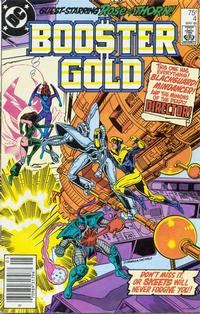 Cover Thumbnail for Booster Gold (DC, 1986 series) #4 [Newsstand]