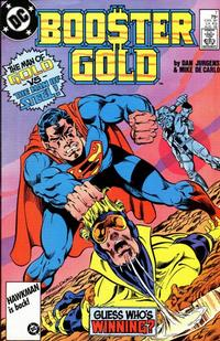 Cover Thumbnail for Booster Gold (DC, 1986 series) #7 [Direct]