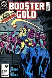 Cover Thumbnail for Booster Gold (DC, 1986 series) #12 [Direct]