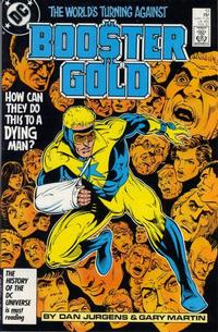 Cover Thumbnail for Booster Gold (DC, 1986 series) #13 [Direct]