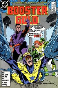 Cover Thumbnail for Booster Gold (DC, 1986 series) #15 [Direct]