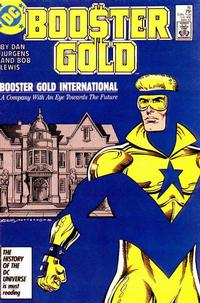 Cover Thumbnail for Booster Gold (DC, 1986 series) #16 [Direct]