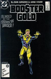 Cover Thumbnail for Booster Gold (DC, 1986 series) #20 [Direct]