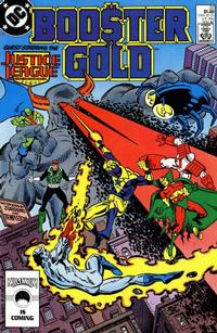 Cover Thumbnail for Booster Gold (DC, 1986 series) #22 [Direct]