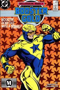 Cover Thumbnail for Booster Gold (DC, 1986 series) #25 [Direct]