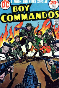 Cover Thumbnail for Boy Commandos (DC, 1973 series) #1