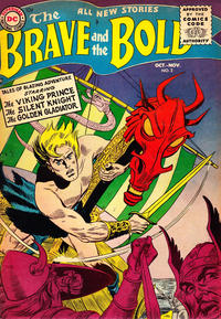 Cover Thumbnail for The Brave and the Bold (DC, 1955 series) #2
