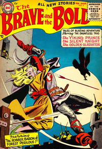 Cover Thumbnail for The Brave and the Bold (DC, 1955 series) #4