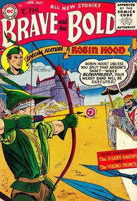 Cover Thumbnail for The Brave and the Bold (DC, 1955 series) #5