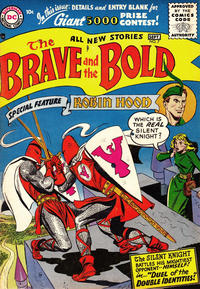 Cover Thumbnail for The Brave and the Bold (DC, 1955 series) #7