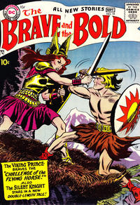 Cover Thumbnail for The Brave and the Bold (DC, 1955 series) #19